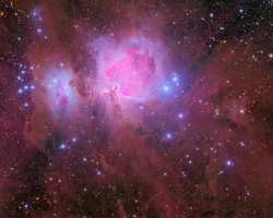 Wide view of Orion