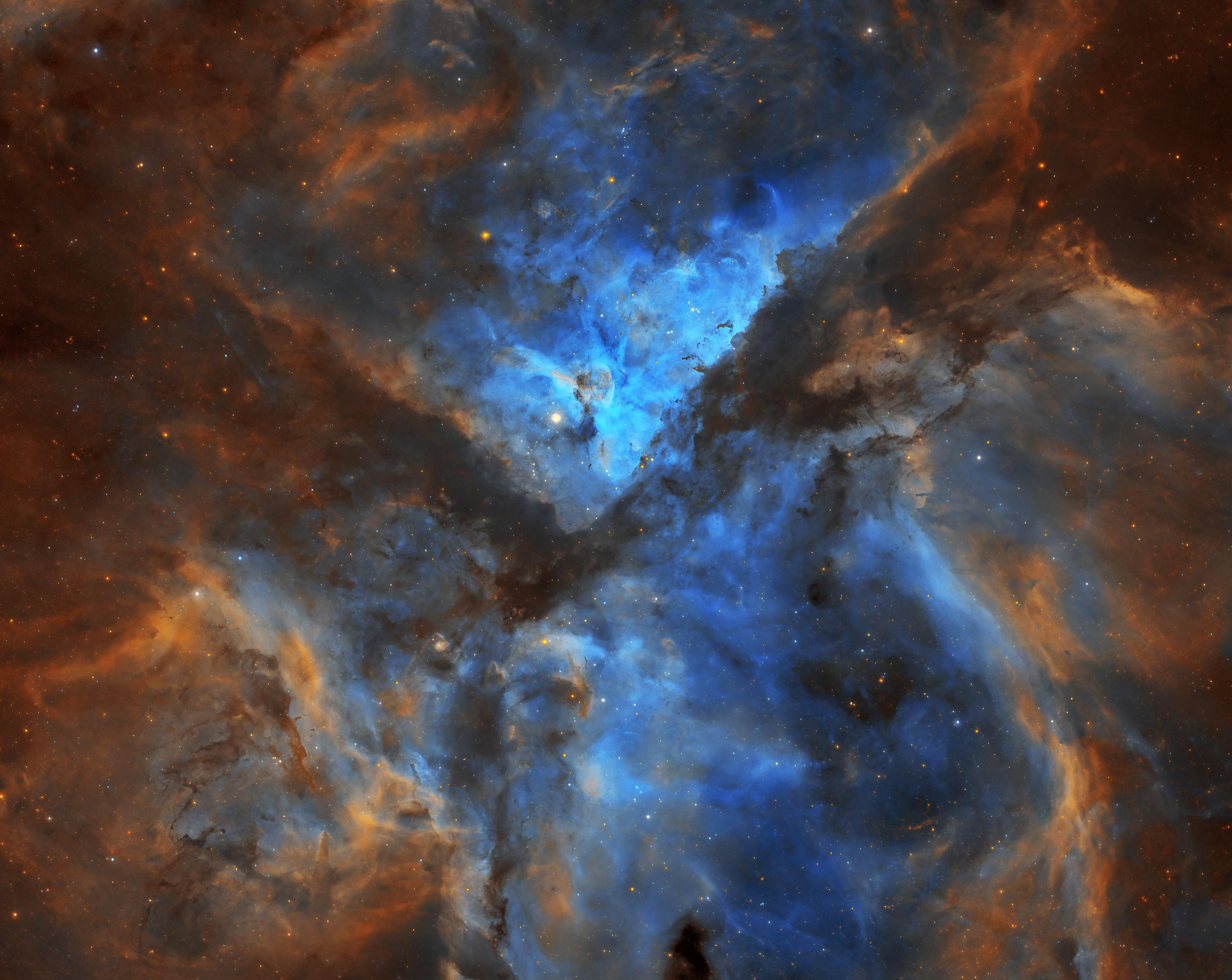 Carina Nebula SHO
