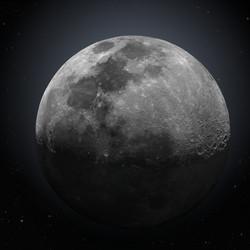 Moon with Earthshine
