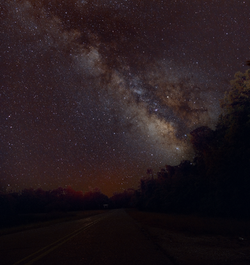 Milky Way from Baton Rouge