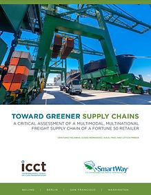 Toward greener supply chains