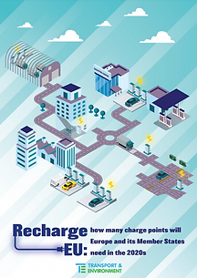 Recharge EU: how many charge points will Europe and its Member States need in the 2020s