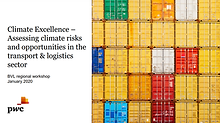 Climate Excellence - Assessing climate risks and opprtunities in the transport & logistics sector
