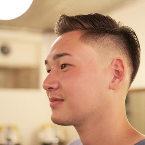 for a haircut