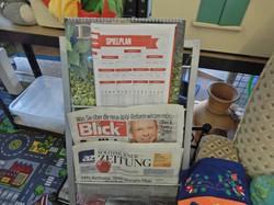 Aktuelle Tageszeitungen