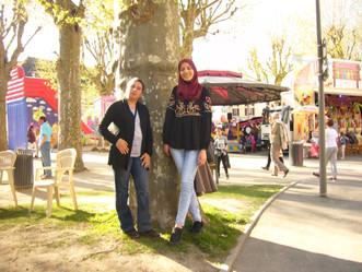 Visite au Château de Vizille pour Ratiba et Fatma