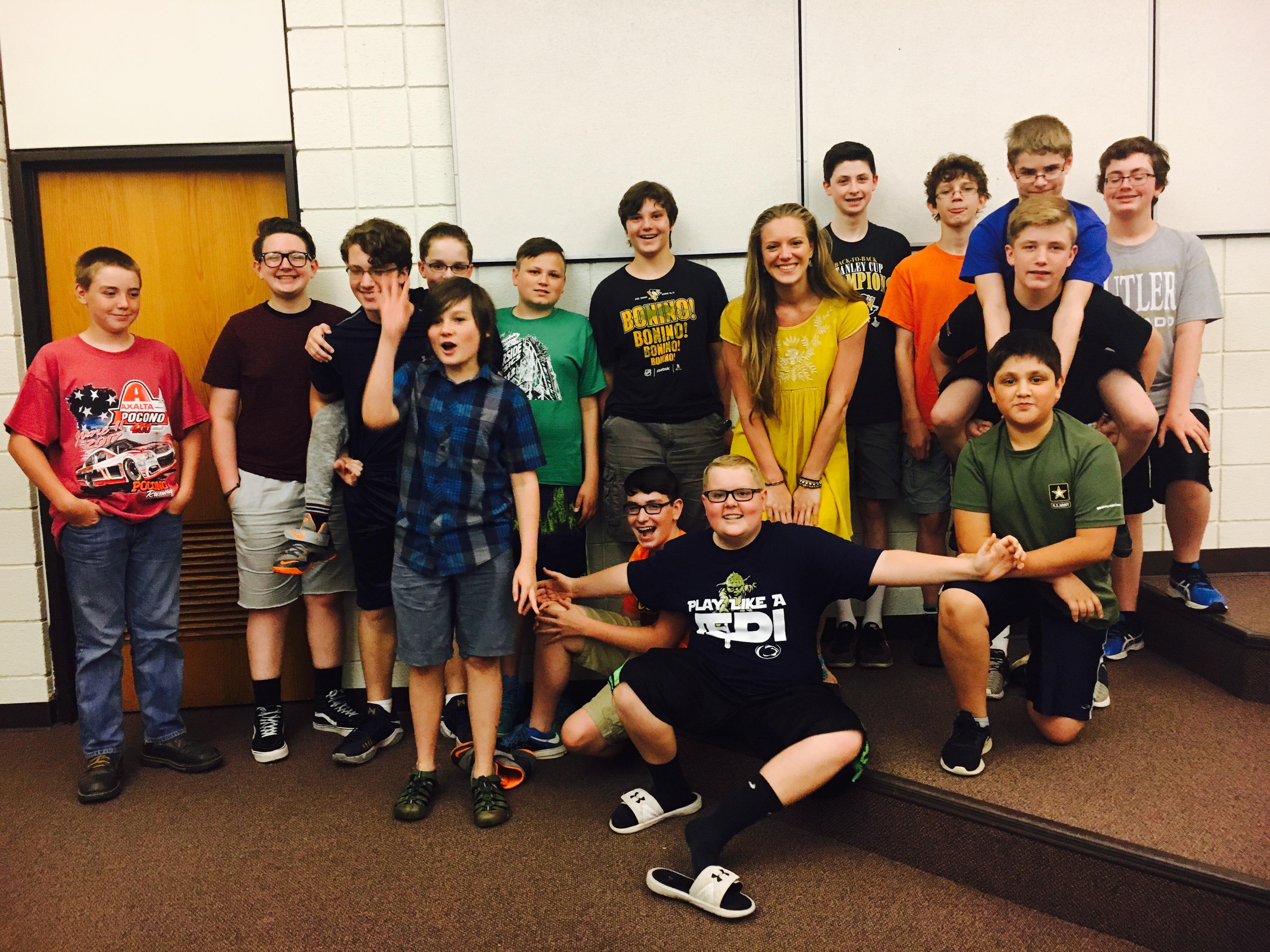 7th Grade Orchestra Last Day!