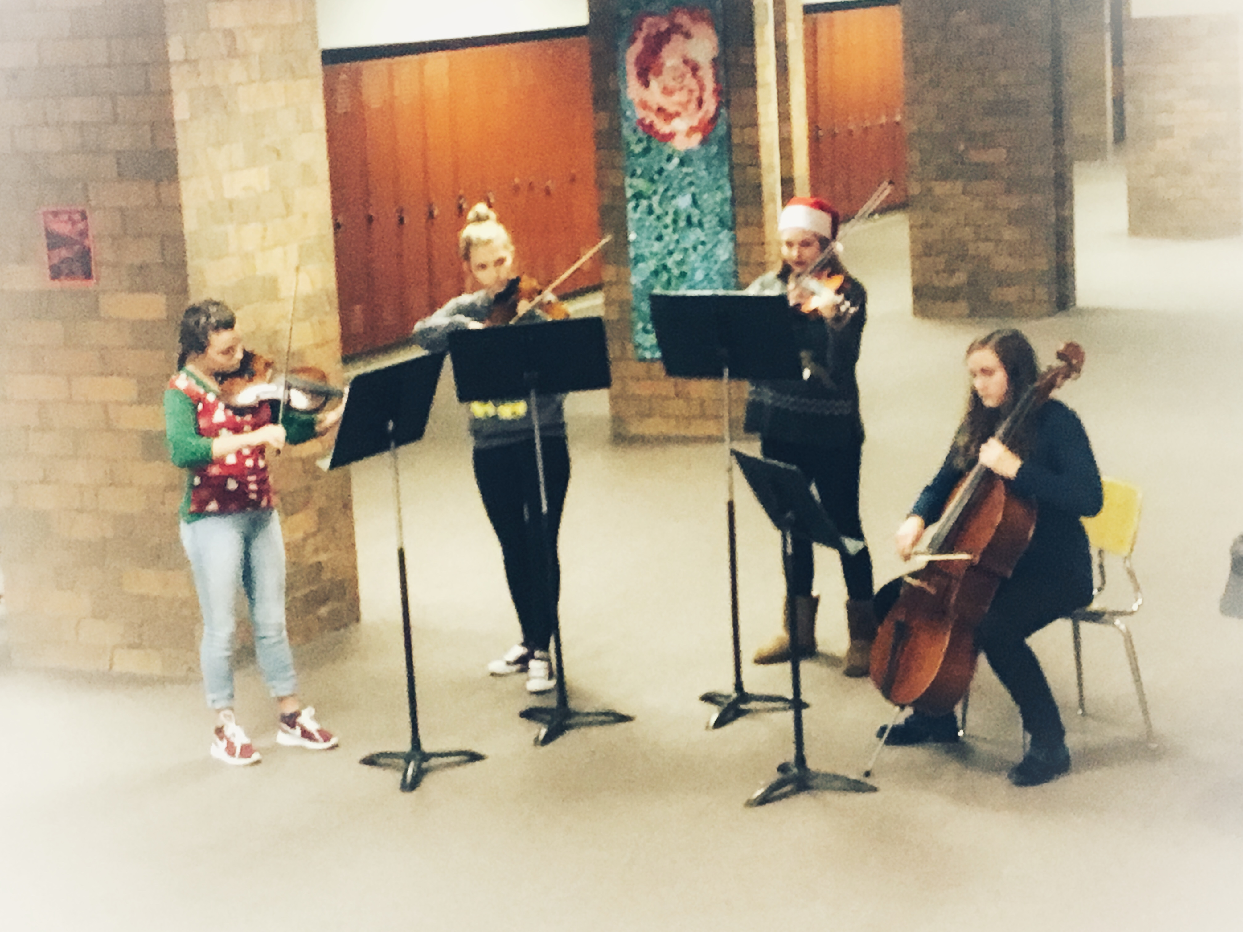 Chamber Orchestra at Craft Show