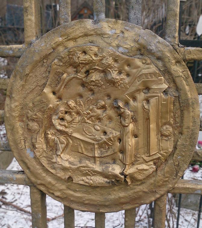 Декор креста