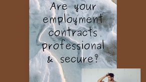 Easily create employment contracts