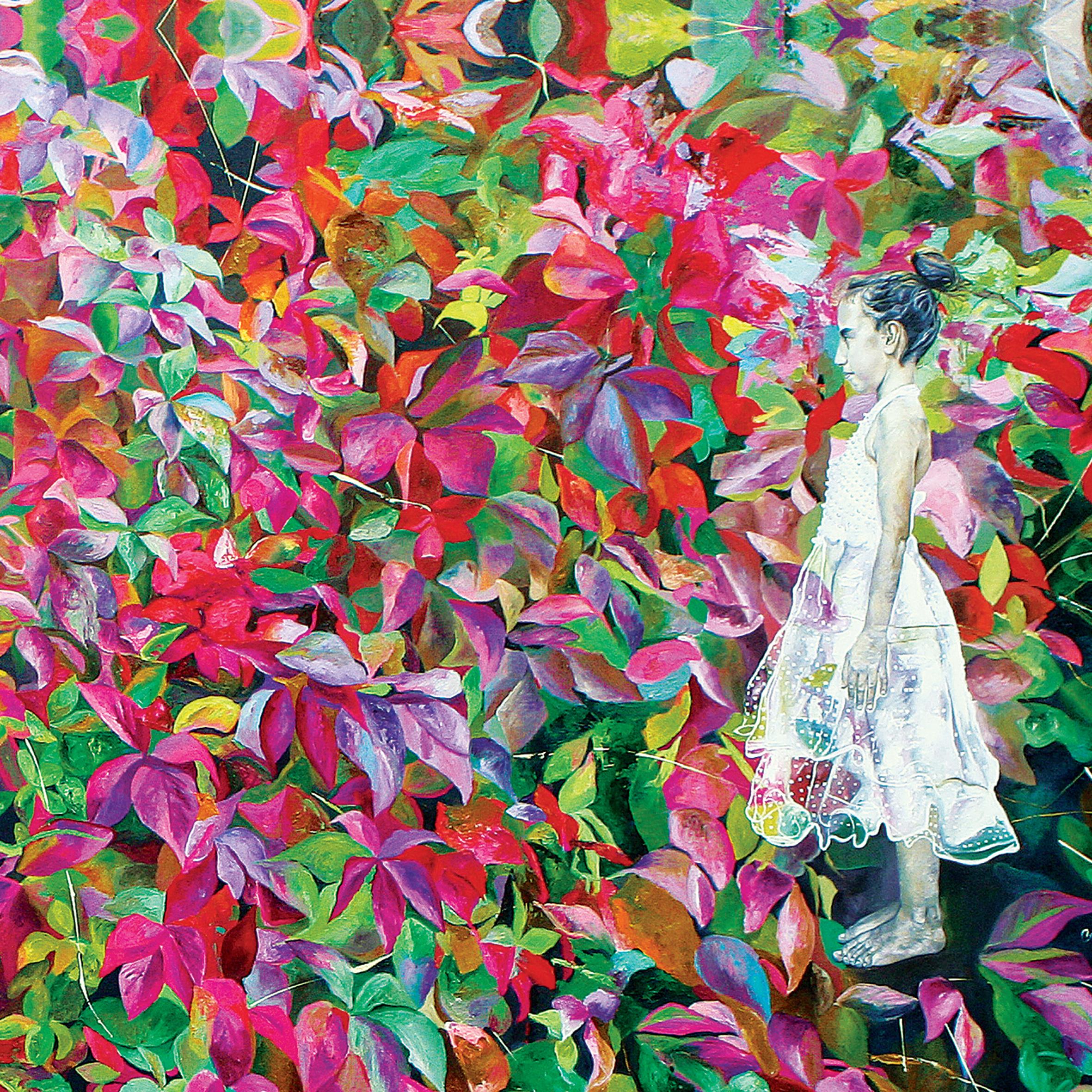 Fleurs et Salma Roja