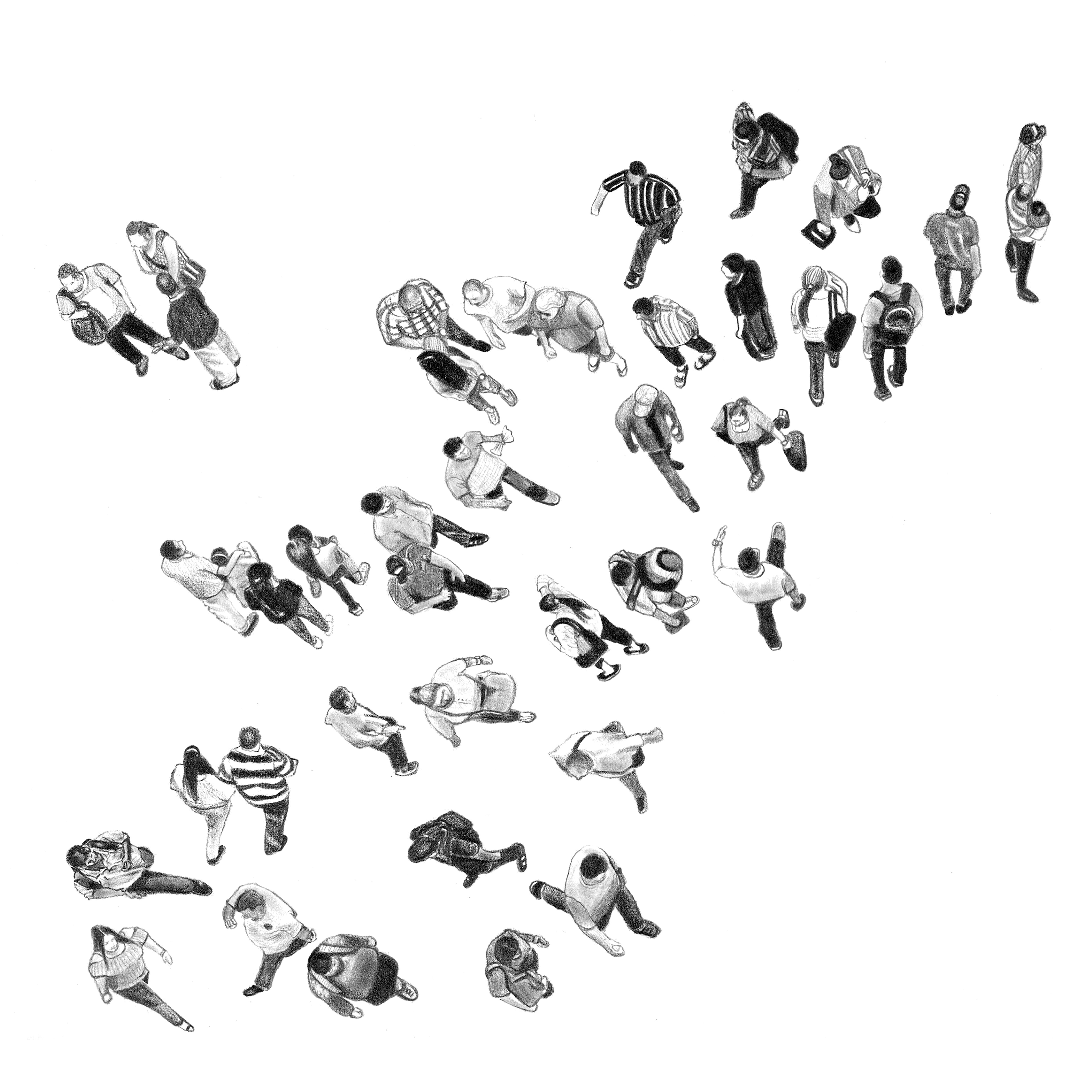 Aglomeraciones Movedizas 1 50x50