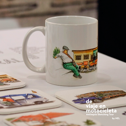 "MUG ""Antioquia Sketching Tour"""