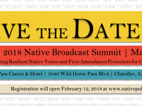 Save the Date for NPM's 2018 Native Broadcast Summit