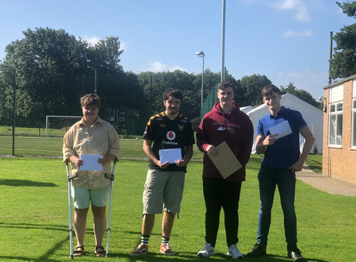 Gretton's Great GCSE Results
