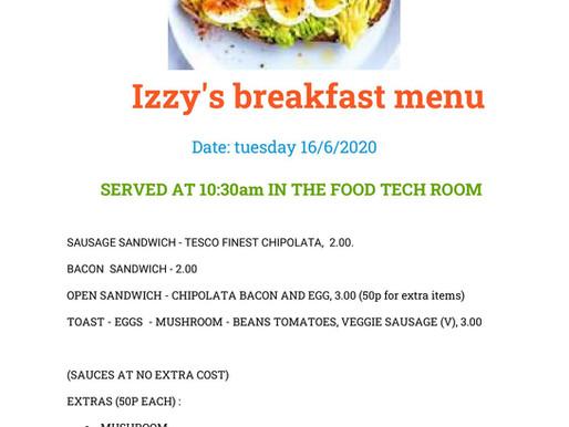 Izzy's Brilliant Breakfasts