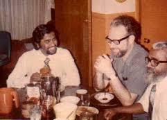 Sanal Edamaruku, Nicholas Walter and Joseph Edamaruku - photo by Madalyn Murray O' Hair