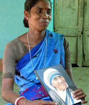 Catholic Church manufactured an ovarian miracle for Mother Teresa