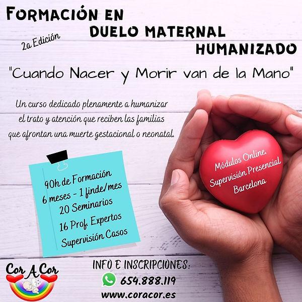 Formación en Duelo Maternal Humanizado.j