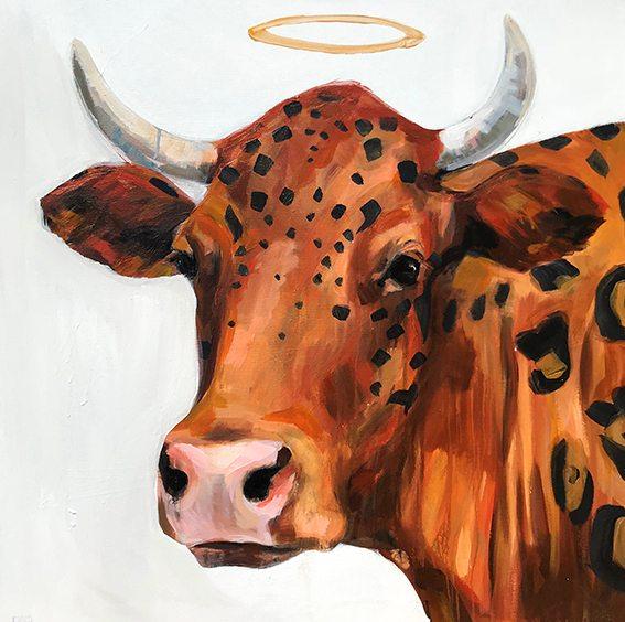 COW LEOPARD