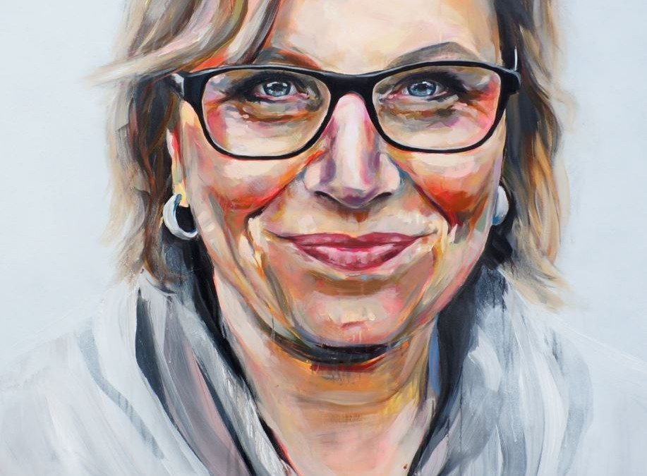 Painting Rosie Batty