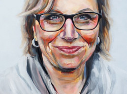 Painting Rosie Batty