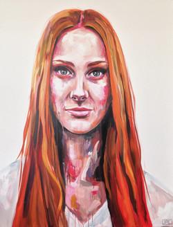 Painting Celia Pavey