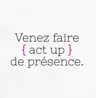 | SOLIDARITÉ | ACT UP Paris