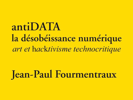 CONFÉRENCE Sur L'ANTI-DATA par Jean-Paul Fourmentraux , ARBA-ESA, Bruxelles