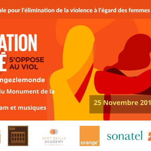 SENSIBILIZATION - grand rassemblement contre le viol et les violences faites aux femmes - ONU Femmes