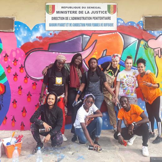 WORKSHOP - WOMEN - Hip-hop @Prison des femmes - Rufisque