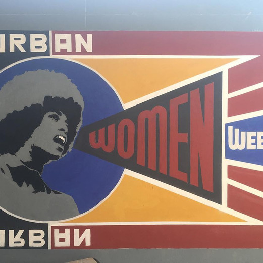 WALLPAINTING - Urban Women Week @ MCU Dakar