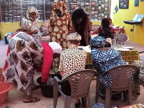WORKSHOP - Ñun Waa Kam - atelier de teinture entre femmes