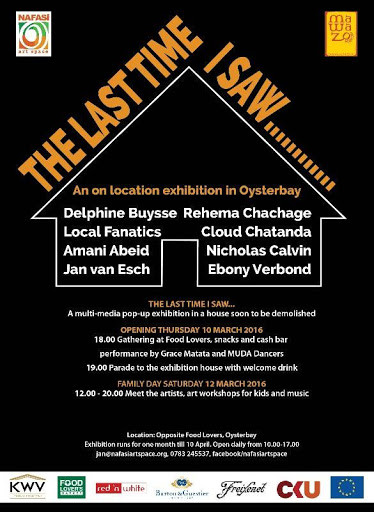 EXHIBITION - The Last Time I saw - Dar es Salaam