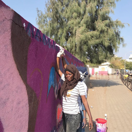 WALLPAINTING - Urban Women Week 2019