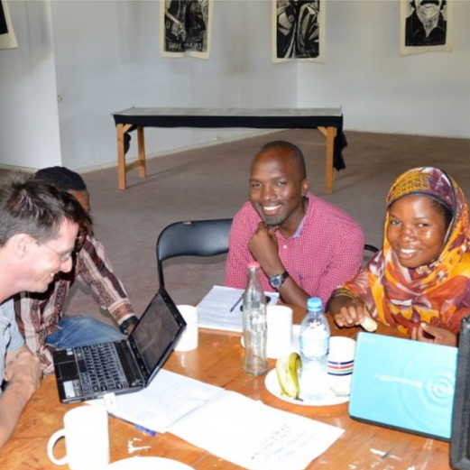 CONSULTANCY - TRAINING - on curating @ Nafasi Art Space