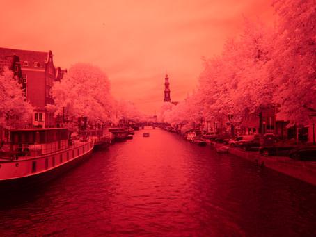 Infrarood in Amsterdam