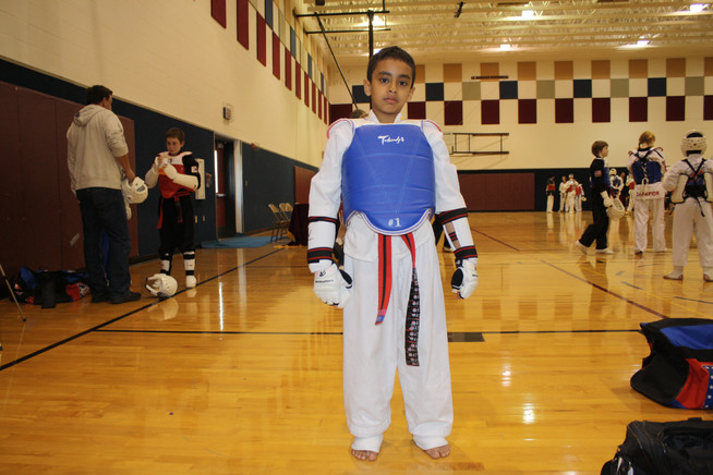 Taekwondo Junior Black Belt