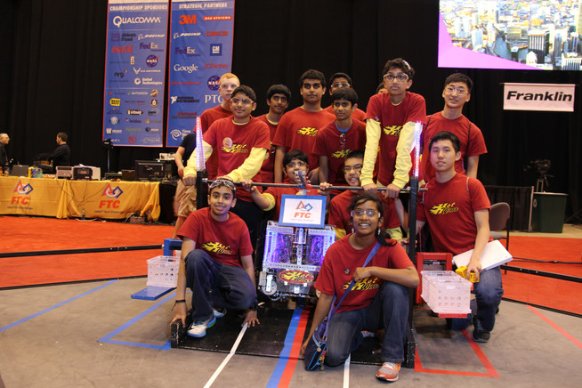 Hot Wired FTC World Champions - 2014