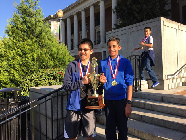 Winning First Place in Robocross and Qualifying to Nationals in Science Olympiad 2015