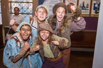 Peter Pan crew