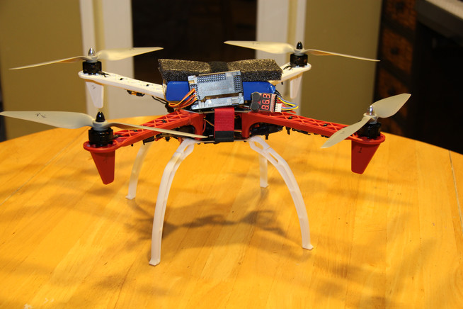 8th Grade Science Fair: Autonomous Quadcopter