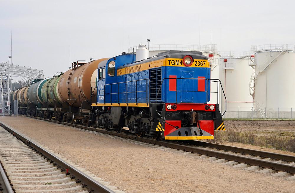 Gargždų geležinkelis locomotive