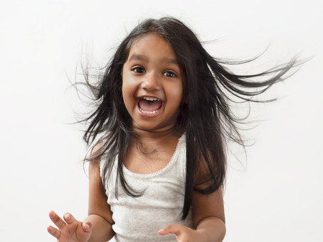 Portrait Experience: Defying Toddler Law with Composite Portraits!