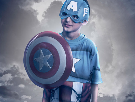 Imagination Captured: Creative & Fine Art Children's Portraits of GTA Kids in their Halloween Best!