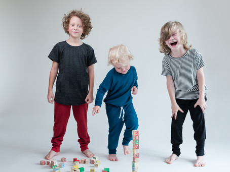 Creative Product Photos for Barrie Kid's Clothing Brand: Stylin' Tots