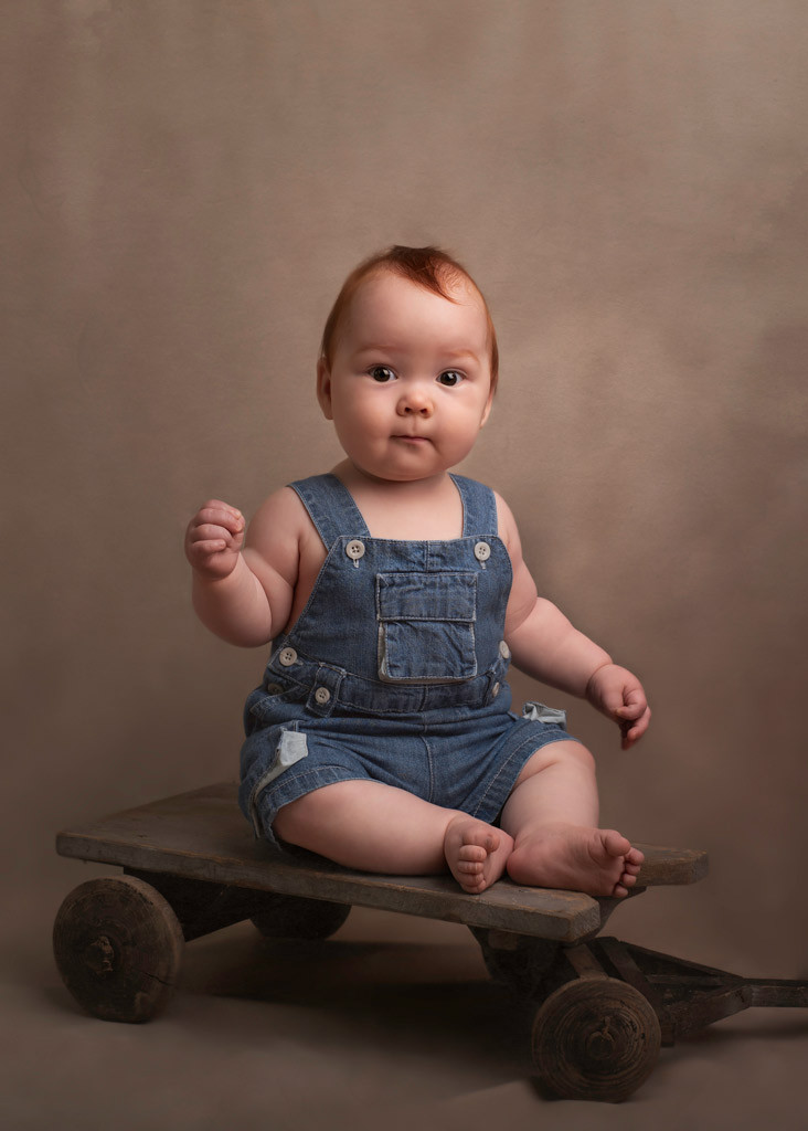 Fine-art-baby-portrait-vintage