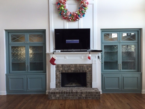 Fireplace Unit | builtinking.com