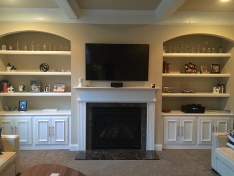 Fireplace Unit | builtinking.com