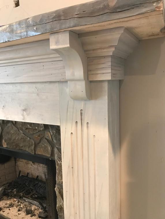 Fireplace Mantel   builtinking.com